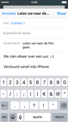 Apple iPhone 5c (iOS 9) - e-mail - hoe te versturen - stap 8