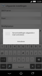 Sony Xperia Z2 4G (D6503) - E-mail - Handmatig instellen - Stap 16