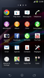 Sony Xperia Z1 Compact - Applications - Installation d