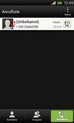 HTC T320e One V - Anrufe - Anrufe blockieren - Schritt 5