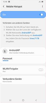 Samsung Galaxy A70 - WiFi - So aktivieren Sie einen WLAN-Hotspot - Schritt 13