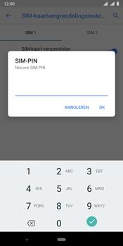 Nokia 9 - Beveiliging - pas de pincode voor je simkaart aan - Stap 10