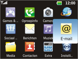 LG C360 Golf - e-mail - hoe te versturen - stap 3