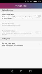 Huawei Huawei Y5 II - Device - Factory reset - Step 5
