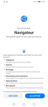 Huawei Y6P - Internet et connexion - Naviguer sur internet - Étape 4