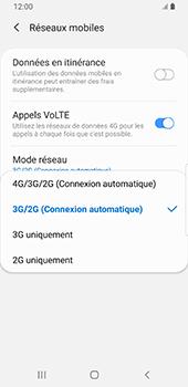 Samsung Galaxy S9 - Android Pie - Réseau - Comment activer une connexion au réseau 4G - Étape 7