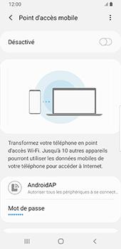 Samsung Galaxy S9 Android Pie - Internet - comment configurer un point d'accès mobile - Étape 8