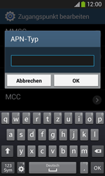 Samsung S7275 Galaxy Ace 3 - MMS - Manuelle Konfiguration - Schritt 15
