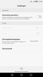 Huawei Y6 II - sms - handmatig instellen - stap 6