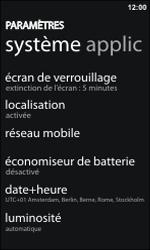HTC 7 Trophy - Internet - configuration manuelle - Étape 4