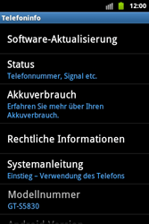Samsung S5830 Galaxy Ace - Software - Update - Schritt 5