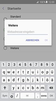 Samsung Galaxy A8 - Internet und Datenroaming - Manuelle Konfiguration - Schritt 25