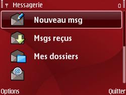 Nokia E63 - MMS - Configuration manuelle - Étape 15