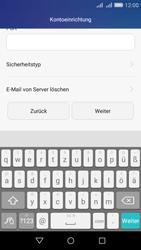 Huawei Y6 - E-Mail - Konto einrichten - Schritt 11