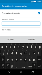 HTC Desire 816 - E-mail - Configuration manuelle - Étape 14