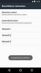 Motorola Moto G 4G (3rd gen.) (XT1541) - Netwerk selecteren - Handmatig een netwerk selecteren - Stap 11
