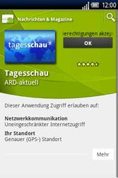 Sony Ericsson Xperia X8 - Apps - Herunterladen - 8 / 22