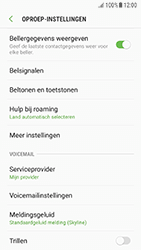 Samsung Galaxy A3 (2016) - Android Nougat - voicemail - handmatig instellen - stap 6