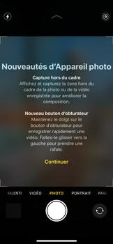 Apple iPhone 11 Pro - Photos, vidéos, musique - Créer une vidéo - Étape 4
