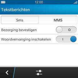 BlackBerry Q5 - SMS en MMS - Handmatig instellen - Stap 6
