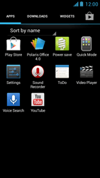 Acer Liquid Z5 - Internet - Manual configuration - Step 3