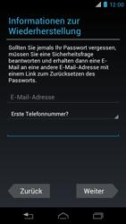 Motorola XT890 RAZR i - Apps - Konto anlegen und einrichten - Schritt 13
