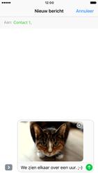 Apple iPhone 6 iOS 10 - MMS - Afbeeldingen verzenden - Stap 14