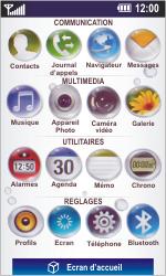 LG GD900 Crystal - Internet - Navigation sur Internet - Étape 2