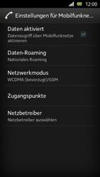 Sony Xperia U - Internet und Datenroaming - Manuelle Konfiguration - Schritt 7