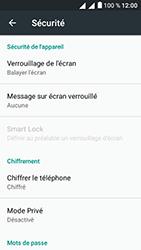 Alcatel U5 - Sécuriser votre mobile - Activer le code de verrouillage - Étape 5