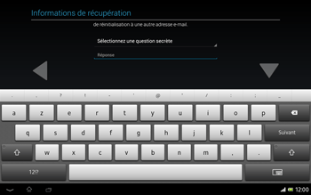 Sony Xperia Tablet Z LTE - Applications - Configuration de votre store d
