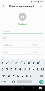 Alcatel 3L - Contact, Appels, SMS/MMS - Ajouter un contact - Étape 5
