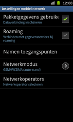 Samsung I9070 Galaxy S Advance - Internet - buitenland - Stap 7