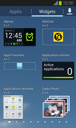 Samsung Galaxy S2 - Applications - Personnaliser l
