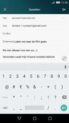 Huawei P8 Lite - E-mail - Bericht met attachment versturen - Stap 11