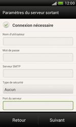 HTC Desire X - E-mail - Configuration manuelle - Étape 14