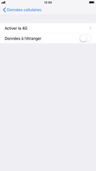 Apple iPhone 8 Plus - iOS 12 - Internet - Désactiver du roaming de données - Étape 6