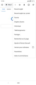 Sony Xperia 5 - Internet et roaming de données - Navigation sur Internet - Étape 9