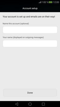 Huawei Mate S - E-mail - Manual configuration (yahoo) - Step 9