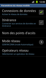 Samsung I8530 Galaxy Beam - Internet - configuration manuelle - Étape 8
