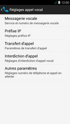 Acer Liquid Z410 - Messagerie vocale - Configuration manuelle - Étape 6