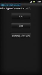 Sony MT27i Xperia Sola - E-mail - Manual configuration - Step 7