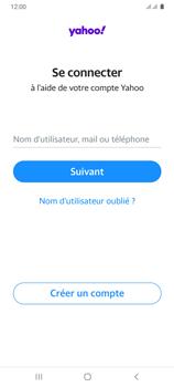 Samsung Galaxy A31 - E-mails - Ajouter ou modifier votre compte Yahoo - Étape 9
