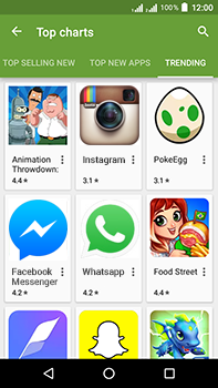Acer Liquid Zest 4G Plus DualSim - Applications - Download apps - Step 14