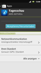 Sony Xperia Sola - Apps - Herunterladen - Schritt 8