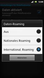 Sony Xperia Sola - Ausland - Auslandskosten vermeiden - Schritt 9