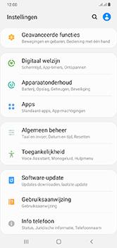Samsung Galaxy A10 - apps - apps afsluiten - stap 4