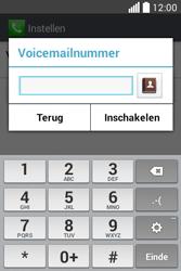 LG L40 (D160) - Voicemail - Handmatig instellen - Stap 8