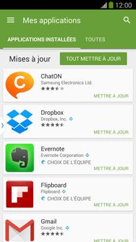 Samsung Galaxy Note III LTE - Applications - Comment vérifier les mises à jour des applications - Étape 6