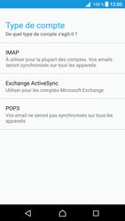 Sony E5823 Xperia Z5 Compact - Android Nougat - E-mail - Configuration manuelle - Étape 11